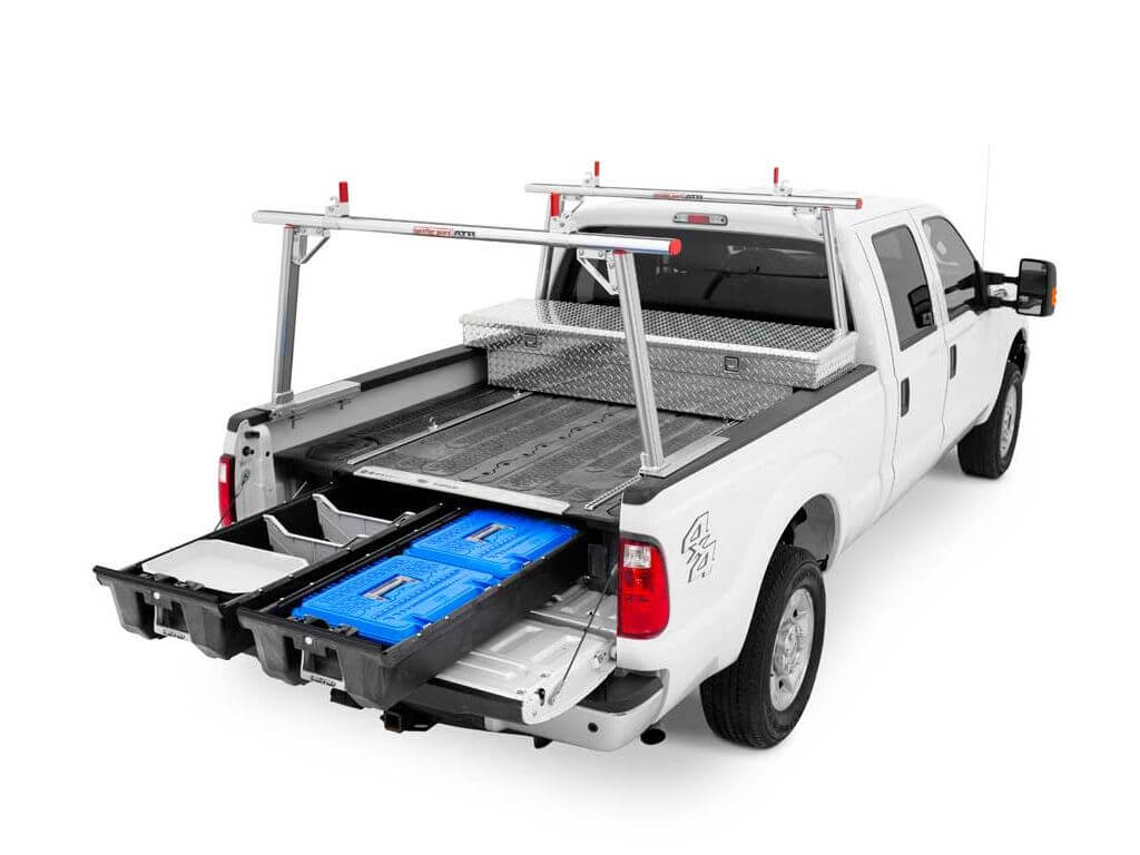 decked truck bed