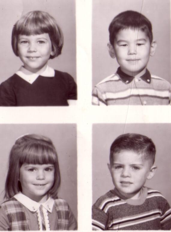 Mrs. Hill's Kindergarten Class 1959